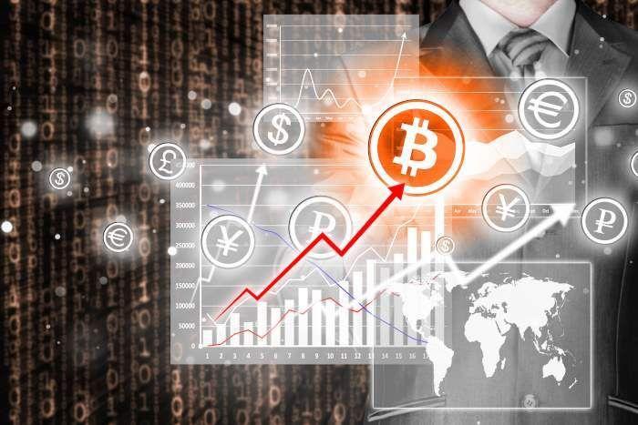 Резкий рост bitcoin