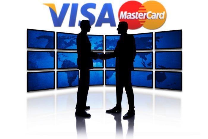 Mastercard и Visa будут обмениваться платежными данными