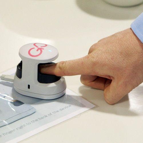 Биометрическая идентификация по венам пальца