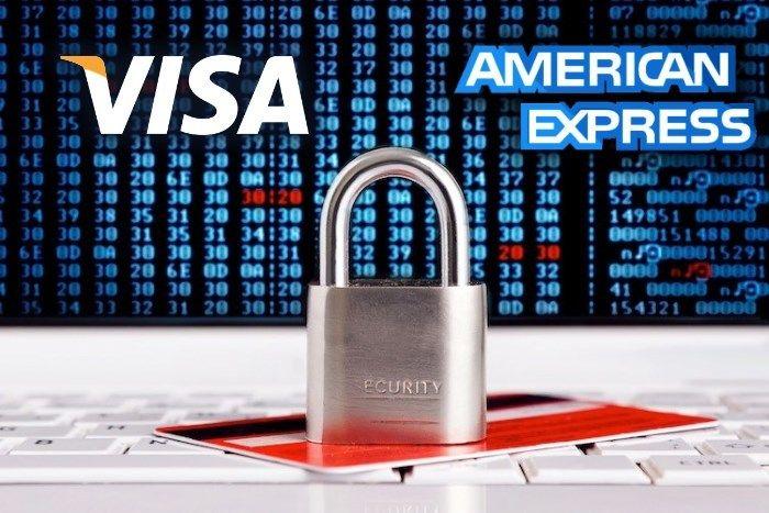 VISA и American Expressповысит защиту карт от мошенников