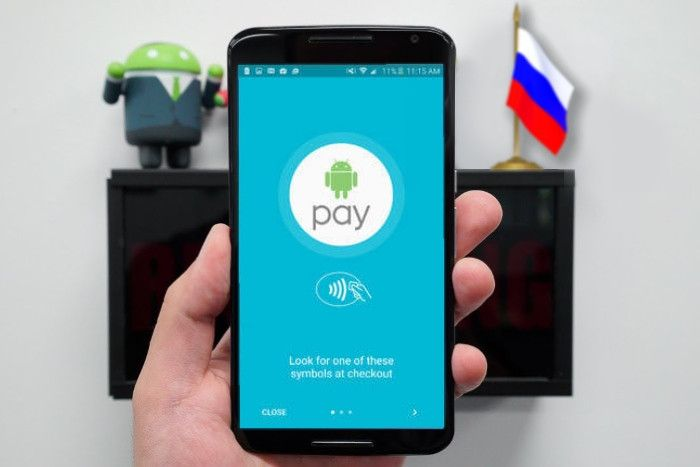 Android Pay в России новости