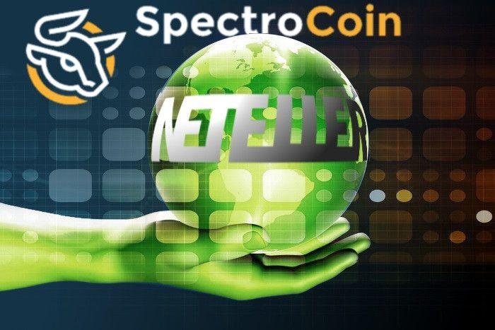 Биткоин-биржа SpectroCoin принимает NETELLER
