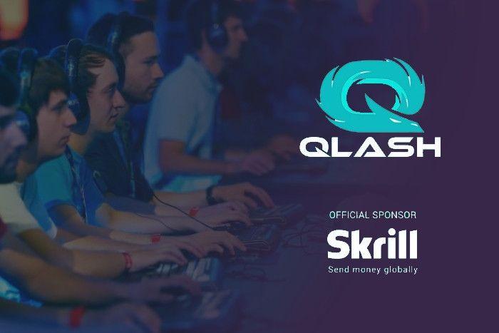Skrill спонсирует QLASH - киберспортивную команду Италии