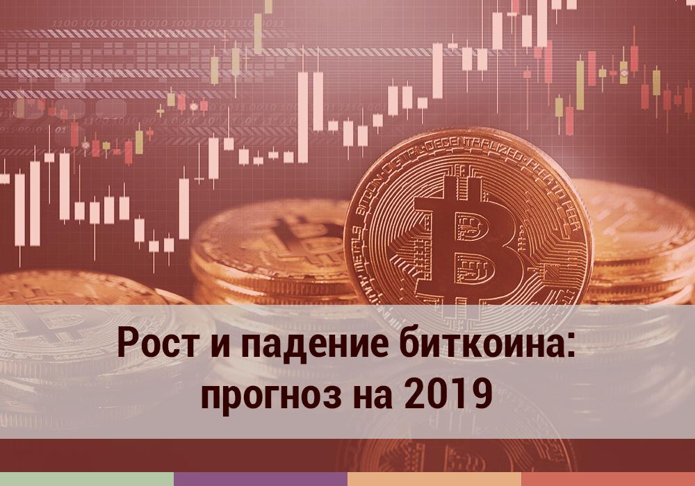 Рост и падение биткоина: прогноз на 2019
